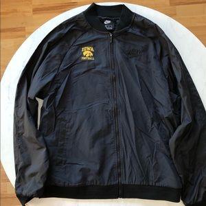 Iowa Football Lightweight Nike Bomber Jacket